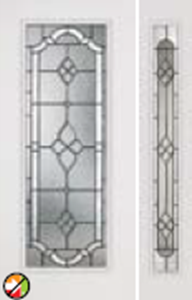 686/687TP non-impact entry doors tampa contractor with tripoli decorative glass