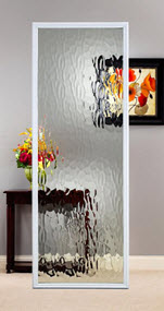 privacy level 6 vapor textured glass style