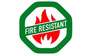 timberline ultra hd fire resistant properties