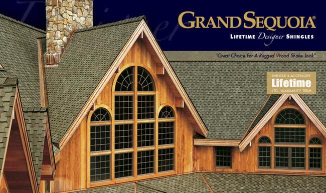 value lifetime designer shingles grand sequoia style