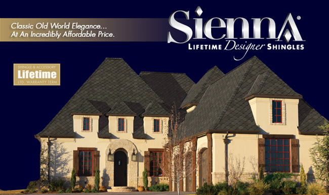 designer lifetime shingles sierra series