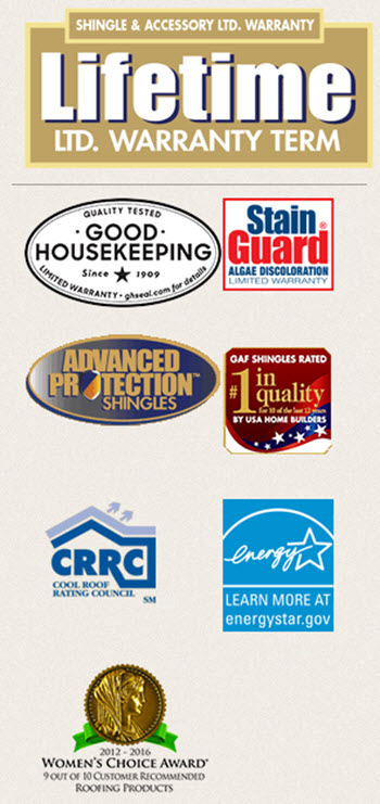badges logos for timberline cool series shingles