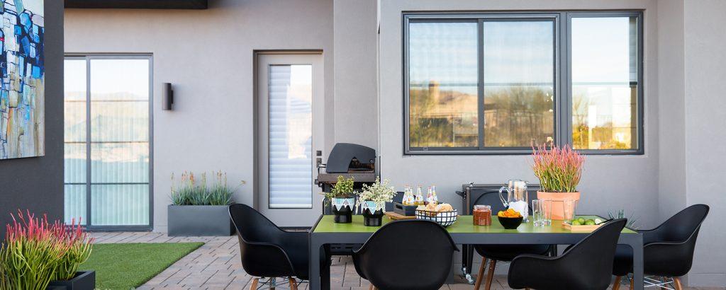 Patio with nice Energy Max Windows