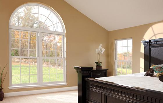Energy Max Geometric Window Bedroom