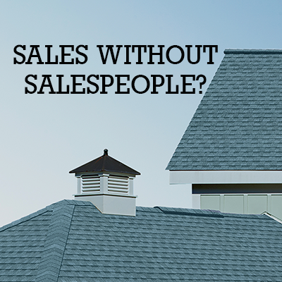 Sales Without Salespeople?